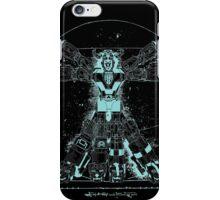 Voltruvian Man (Blue) iPhone Case/Skin