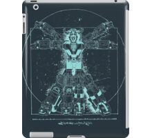 Voltruvian Man (Blue) iPad Case/Skin