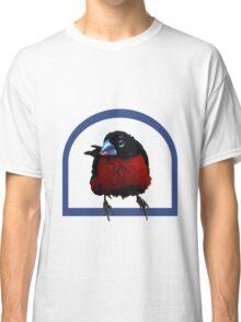 Bird on a perch Classic T-Shirt