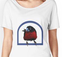 Bird on a perch Women's Relaxed Fit T-Shirt