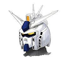 FA Gundam Photographic Print