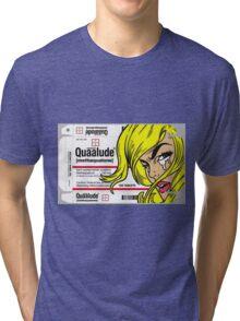 QUAALUDE Tri-blend T-Shirt