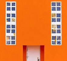 Orange Wall by Svetlana Sewell