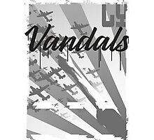 Vandals Propaganda Photographic Print