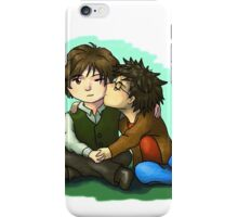Harry kisses Tom iPhone Case/Skin