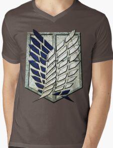attack on titans Mens V-Neck T-Shirt