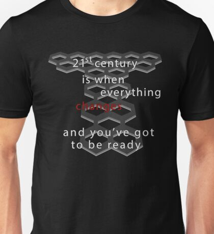 Torchwood 21st century (dark) Unisex T-Shirt