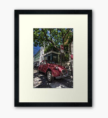 Sl-Week 42 / Car Framed Print