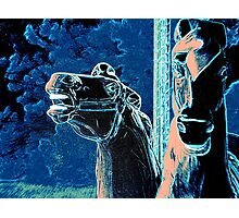 Night Mares Of The Carousel Photographic Print