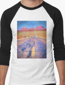 Monument Valley Men's Baseball ¾ T-Shirt