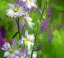 My Larkspur by Eileen McVey