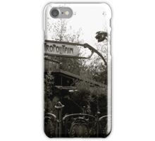 Le Metro iPhone Case/Skin