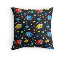 Space Sheep Pattern Throw Pillow
