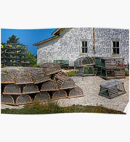 Lobster Traps Poster