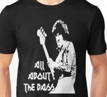 Phil Lynott: All About the Bass Unisex T-Shirt