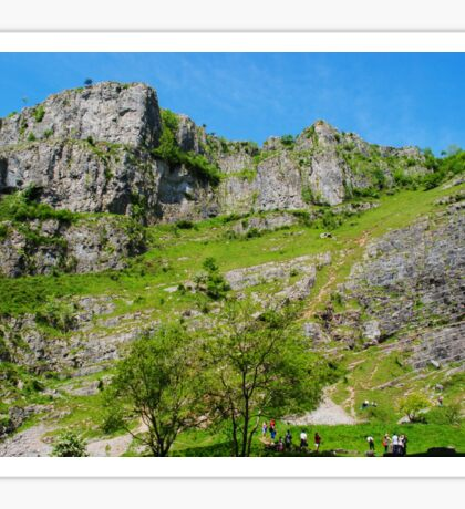 Cheddar Gorge Sticker