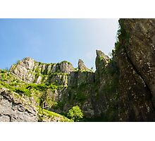 Cheddar Gorge Photographic Print