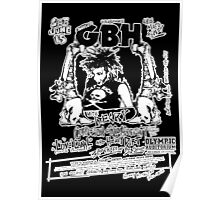 GBH (L.A. show) Poster