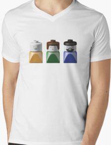 Lego Duplo Family Mens V-Neck T-Shirt