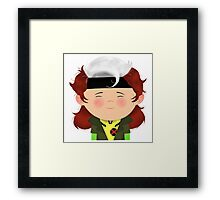 X-Men Animated Series: Rogue Framed Print