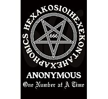 666 Anonymous Photographic Print