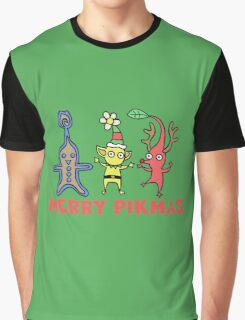 Pikmin - Merry Pikmas Graphic T-Shirt