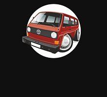 VW T3 bus caricature red Unisex T-Shirt