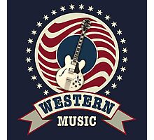 Western Music Photographic Print