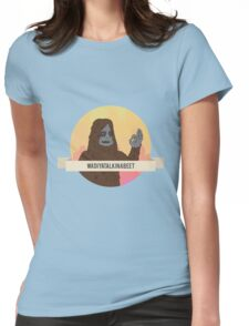 Sassy the sasquatch - The Big Lez Show Womens Fitted T-Shirt