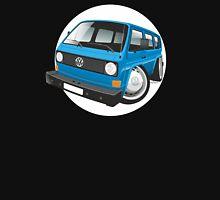 VW T3 bus caricature blue Unisex T-Shirt