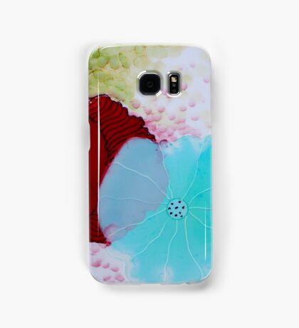 """Geodes"" Colorful Unique Original Original Artist's Painting! Samsung Galaxy Case/Skin"