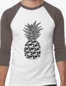 Pineapple of my Heart Men's Baseball ¾ T-Shirt