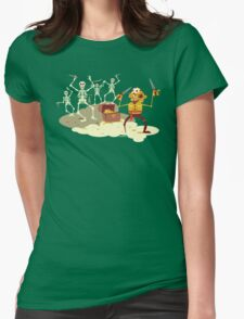 Pirate Cove Womens Fitted T-Shirt