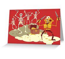 Pirate Cove Greeting Card