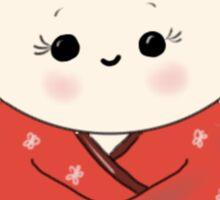 Kokeshi Doll.  Sticker