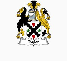 Taylor Coat of Arms / Taylor Family Crest Unisex T-Shirt