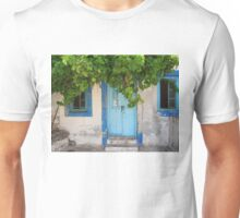 knock and Bacchus will invite u in for a glass of wine Unisex T-Shirt