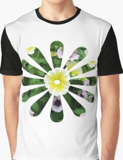 Flower of a Flower Graphic T-Shirt