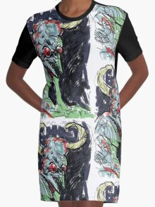 The Demon  Graphic T-Shirt Dress
