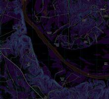 USGS TOPO Map Alabama AL Camden North 20110913 TM Inverted Sticker