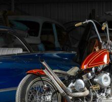Steven Cooke's 1951 Harley Davidson Panhead Sticker