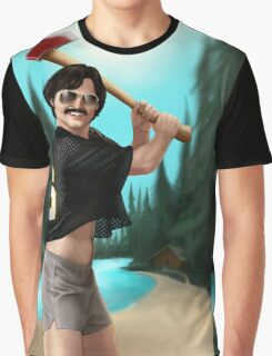 McReynolds and the Axe Graphic T-Shirt