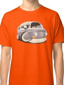 VW T2 bus caricature grey Classic T-Shirt