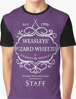 Weasleys' Wizard Wheezes Staff Shirt Purple Graphic T-Shirt