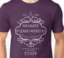 Weasleys' Wizard Wheezes Staff Shirt Purple Unisex T-Shirt