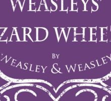 Weasleys' Wizard Wheezes Staff Shirt Purple Sticker