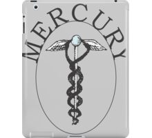 Mercury Retro Print (Grey) iPad Case/Skin
