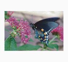 Beautiful Blue Butterfly One Piece - Long Sleeve