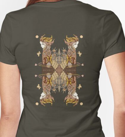Court Jester Womens Fitted T-Shirt