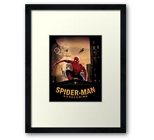 spiderman homecoming Framed Print